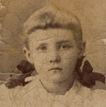 Catherine Post, circa 1900.